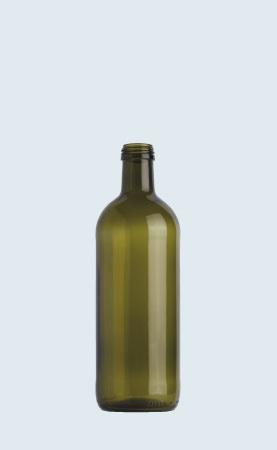 Bottiglia in vetro per olio Puglia Ecovà 100
