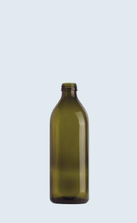 Bottiglia in vetro per olio Quadro 100 Ecovà
