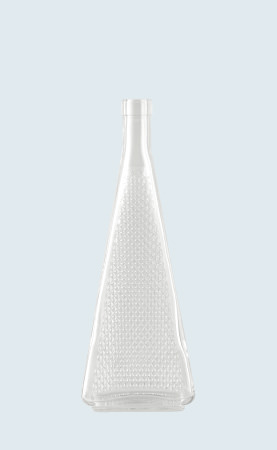 Bottiglia in vetro distilleria Regina Diamantata 50