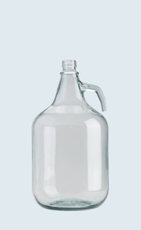 Bottiglia in vetro per vino Dama 5 lt sole