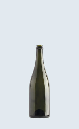 Bottiglia in vetro per vino Champagne Mc Ecovà 75