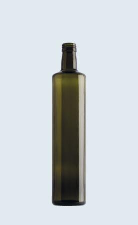 Bottiglia in vetro per olio Cilindrica Alta 75