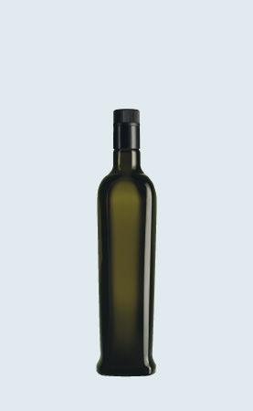 Bottiglia in vetro per olio Papua Dop 75