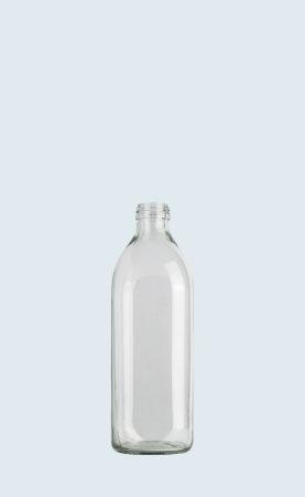 Bottiglia in vetro per olio Quadro 75