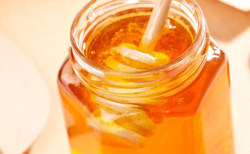 Il nettare degli Dei e il suo boccale di vetro - Vaso in vetro per miele Arpaia